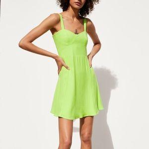 Zara Fluorescent Dress size L